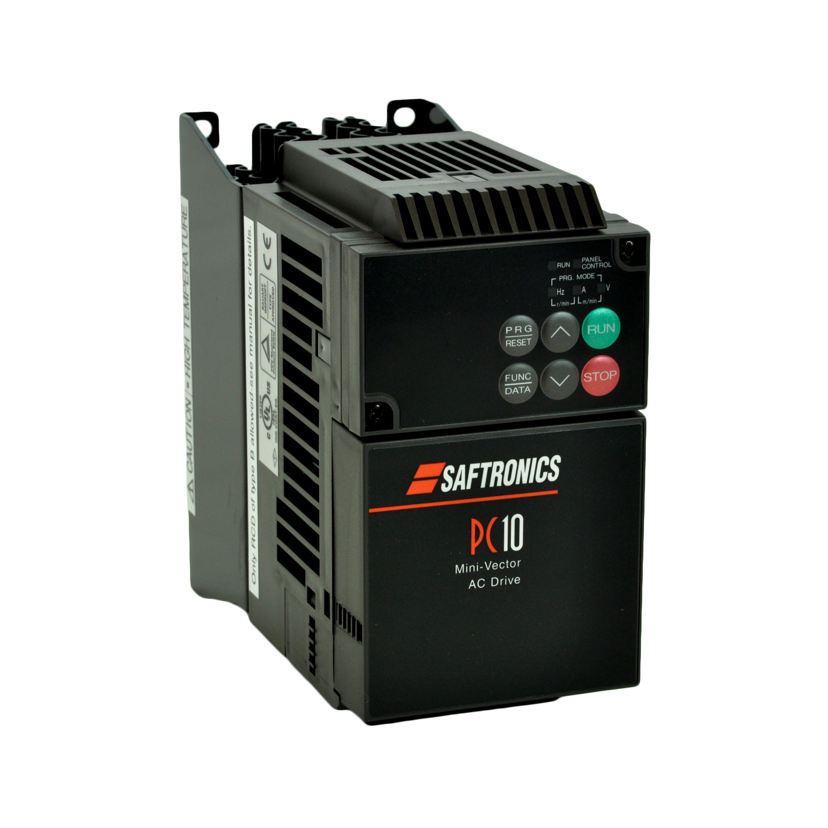 Saftronics vfd pc10 for Vfd for 5hp motor