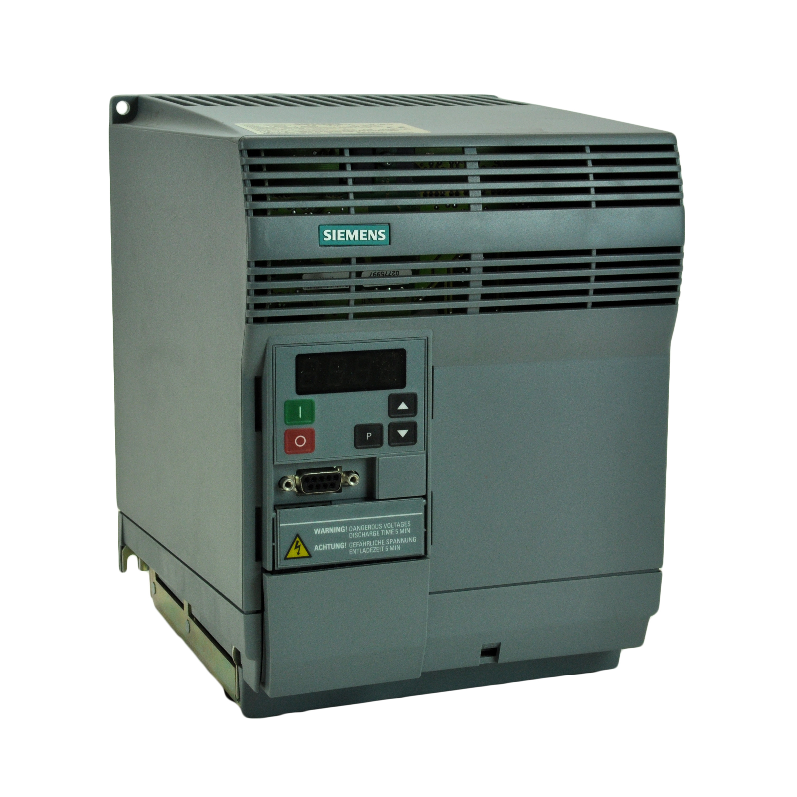 Siemens vfd micromaster for Vfd for 7 5 hp motor