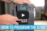 How to Program the Mitsubishi A700 Series VFD (Video)