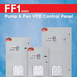 Fan and Pump VFD Control Panel