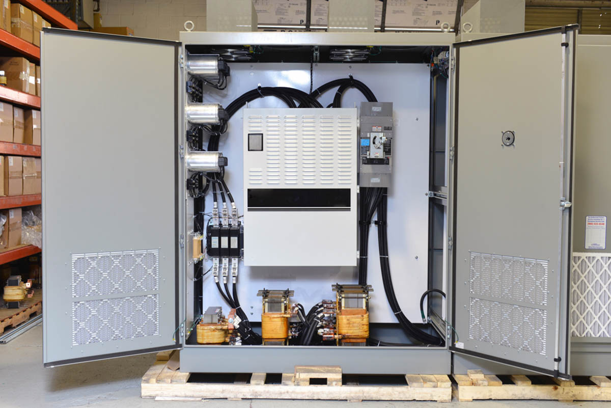 700 HP VFD Panel with Active Front End Unit (AFE)
